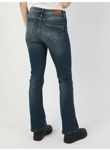 Colin's 791 Monica Normal Kesim Normal Bel Çizme Paça Kadın Pantolon Renkli